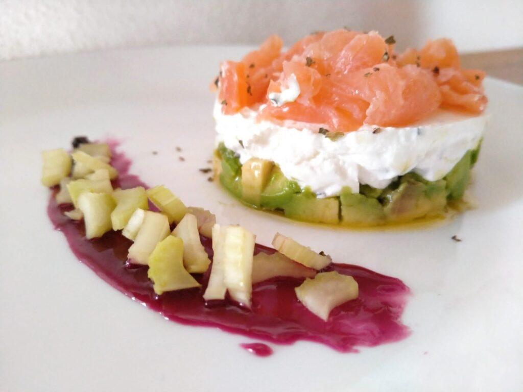 Tartare Salmone e Avocado