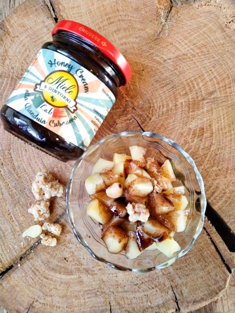 Mele con Honey Cream alla Gianduia Cubanera